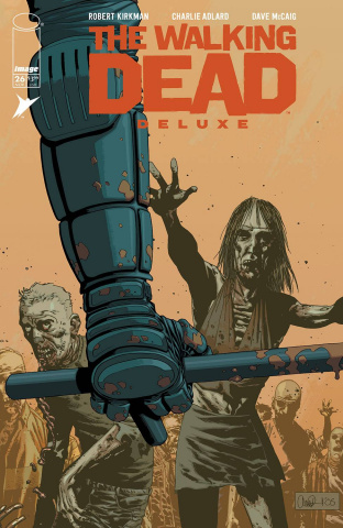 The Walking Dead Deluxe #26 (Adlard & McCaig Cover)