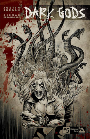 Dark Gods #5 (Nightmare Retailer Cover)