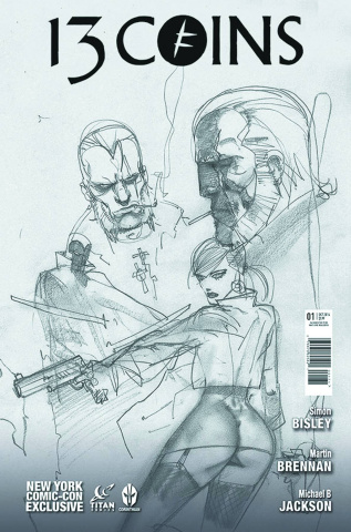 13 Coins #1 (NYCC Cover)