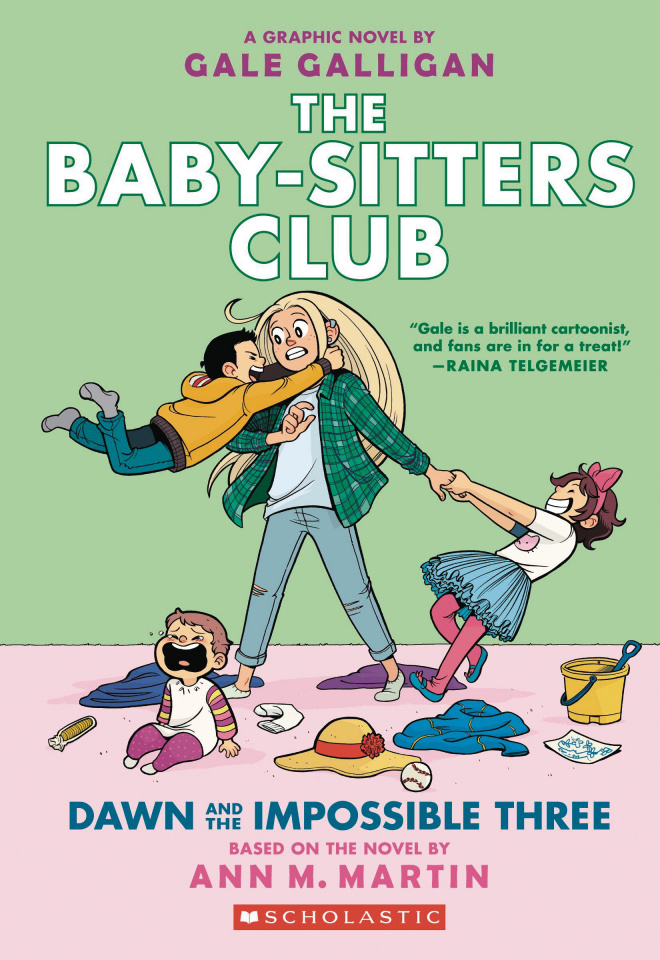 The Baby-Sitters Club Vol. 5: Dawn and the Impossible Three
