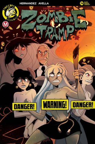 Zombie Tramp #74 (Maccagni Risque Cover)