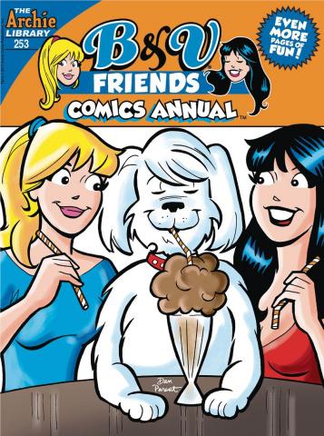 B & V Friends Comics Annual Digest #253