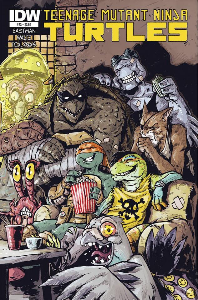 Teenage Mutant Ninja Turtles #53