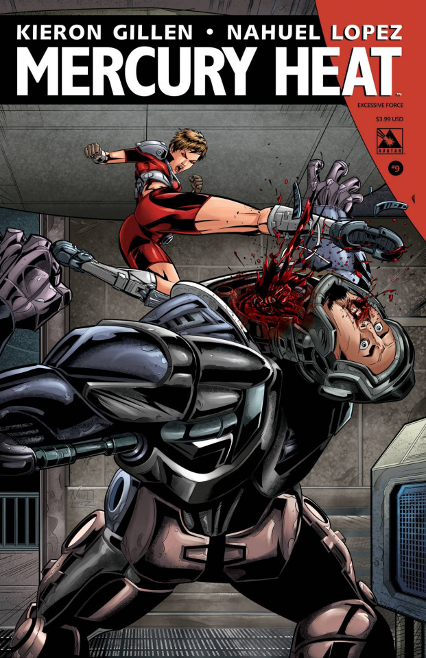 Mercury Heat #9 (Excessive Force Cover)