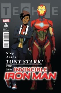 Invincible Iron Man #3 (Anka Cover)
