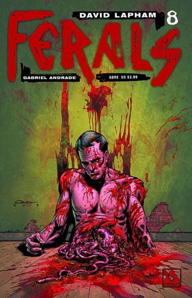 Ferals #8 (Gore Cover)
