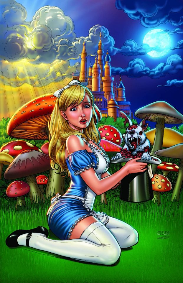 Grimm Fairy Tales: Wonderland - Down the Rabbit Hole #4 (Chen Cover)