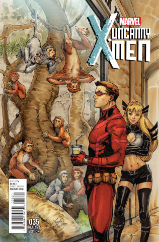 Uncanny X-Men #35 (Oum NYC Cover)