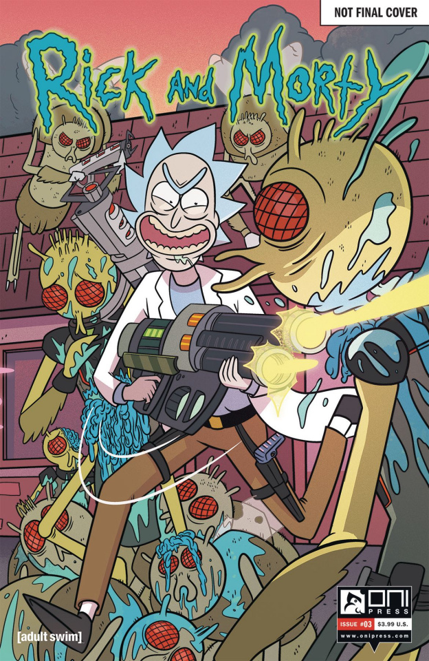 Rick and Morty #3 (50 Issues Special Cover)