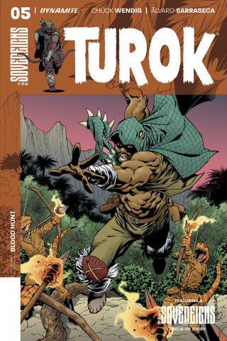Turok #5 (Lopresti Cover)