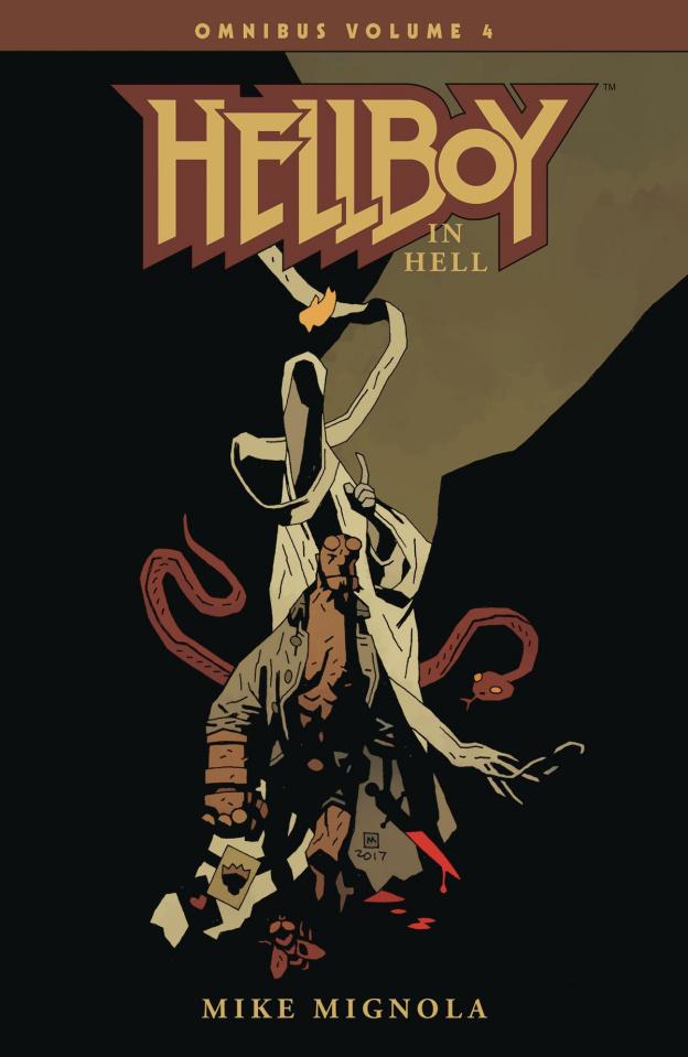 Hellboy Vol. 4: Hellboy in Hell (Omnibus)