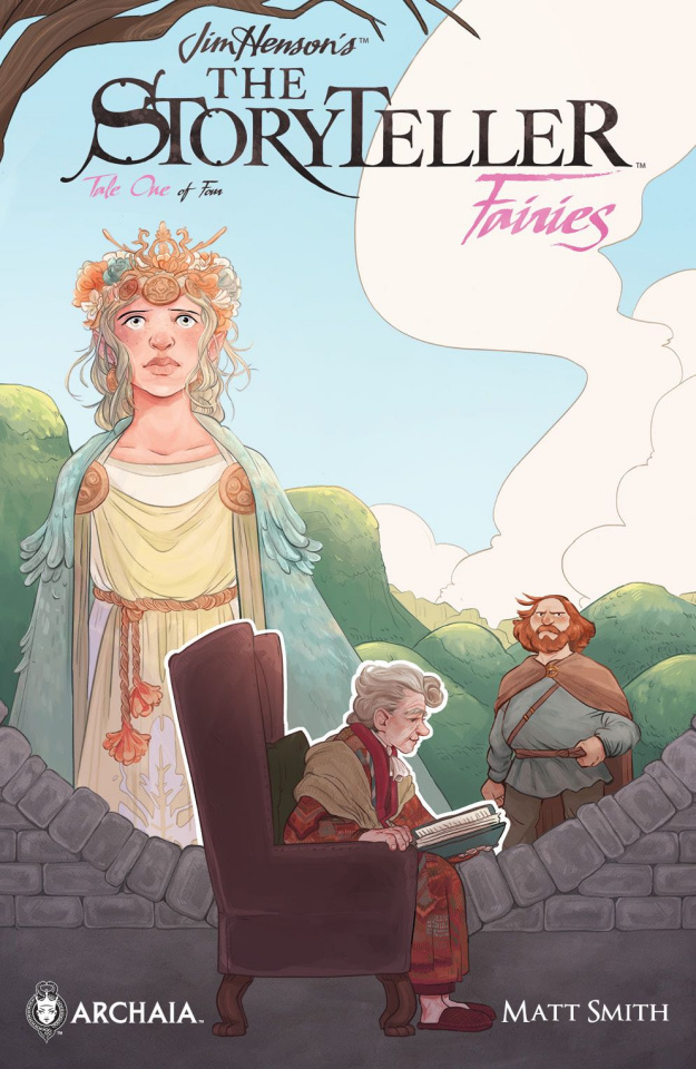 The Storyteller: Fairies #1 (Subscription Milled Cover)