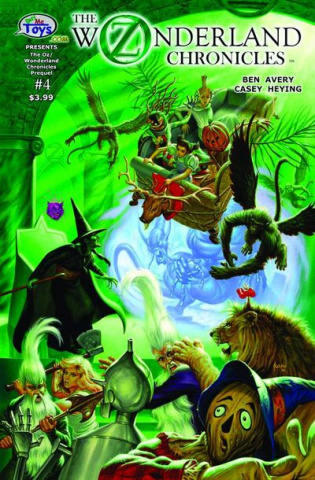 The Oz Wonderland Chronicles #4 (Jusko Cover)