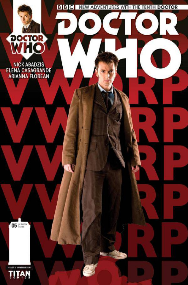 Doctor Who: New Adventures with the Tenth Doctor #5 (Subscription Cover)