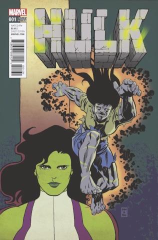 Hulk #1 (Brigman Classic Cover)