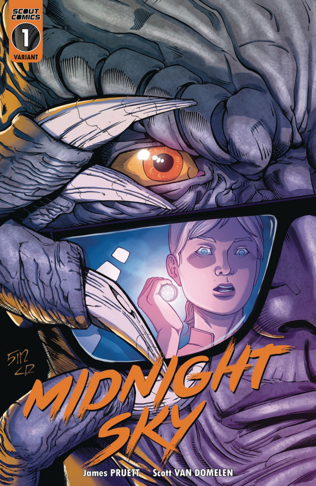 Midnight Sky #1 (10 Copy Unlocked Ralf Singh Cover)