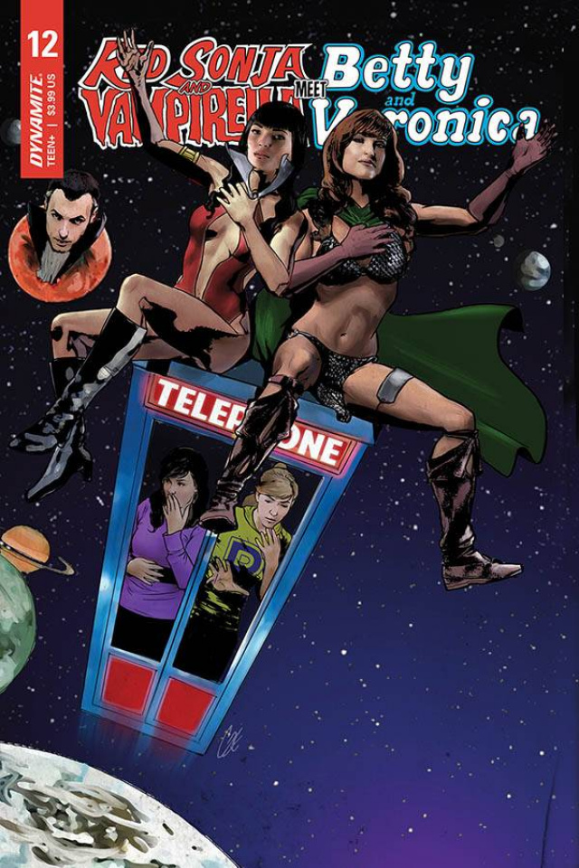 Red Sonja and Vampirella Meet Betty and Veronica #12 (Staggs Cover)