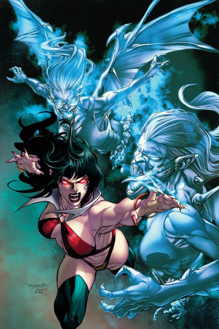 Vengeance of Vampirella #5 (10 Copy Buzz Virgin Cover)