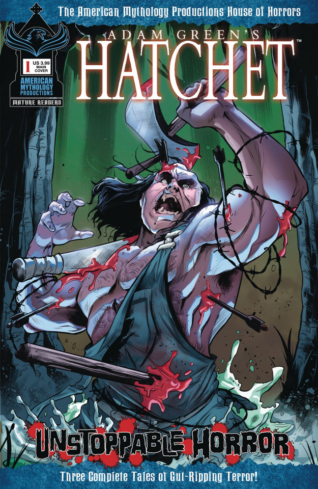 Hatchet: Unstoppable Horror #1 (Carratu Cover)