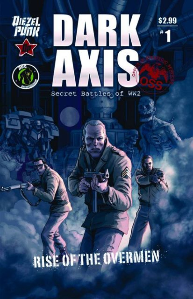 Dark Axis: Rise of the Overmen #1