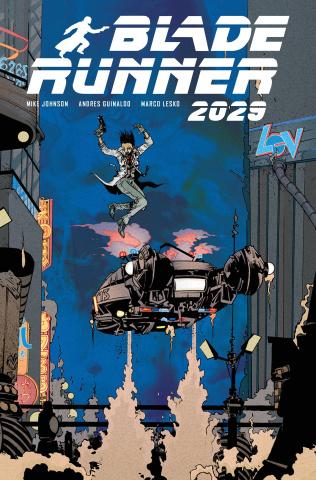 Blade Runner 2029 #9 (Pope Cover)