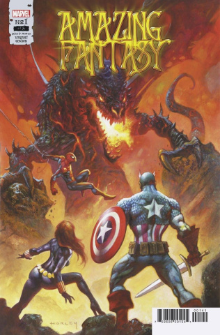 Amazing Fantasy #1 (Horley Cover)