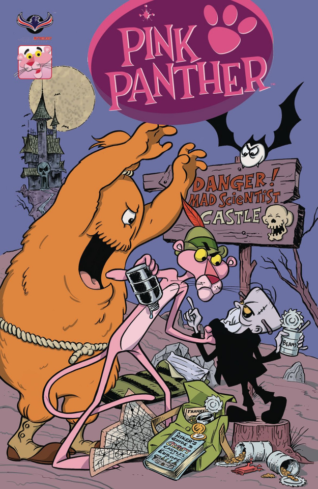 The Pink Panther: Trick or Pink #1 (Pink Hijinks Cover)