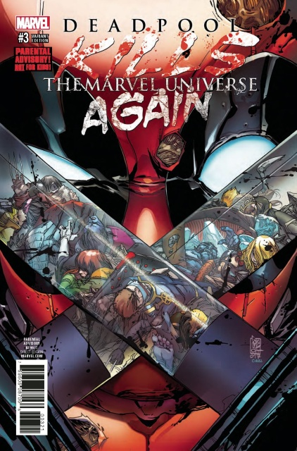Deadpool Kills the Marvel Universe Again #3 (Camuncoli Cover)