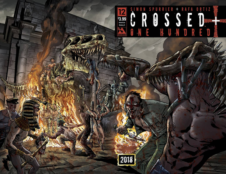 Crossed + One Hundred #12 (American History X Wrap Cover)