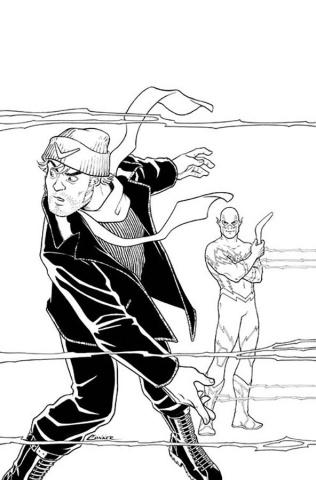 Justice League vs. Suicide Squad #4 (Conner Cover)