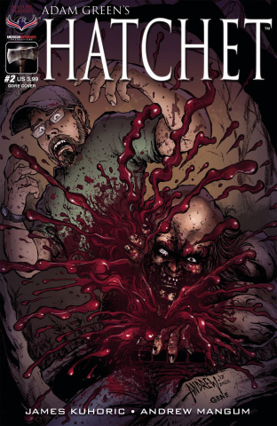 Hatchet #2 (Mangum Peekaboo Cover)