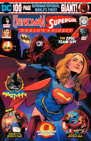 Batwoman / Supergirl: World's Finest Giant #1