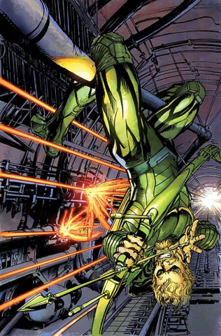 Green Arrow #12 (Variant Cover)