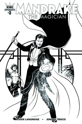 Mandrake: The Magician #3 (25 Copy Laming B&W Cover)