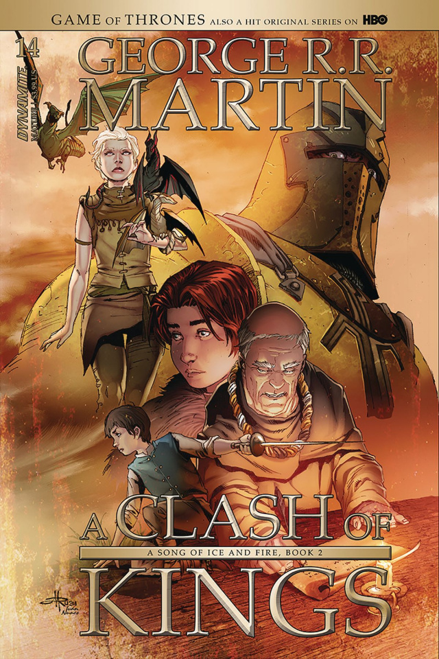 A Game of Thrones: A Clash of Kings #14 (Subscription Rubi Cover)