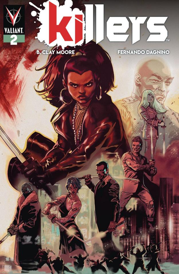 Killers #2 (Dagnino Cover)