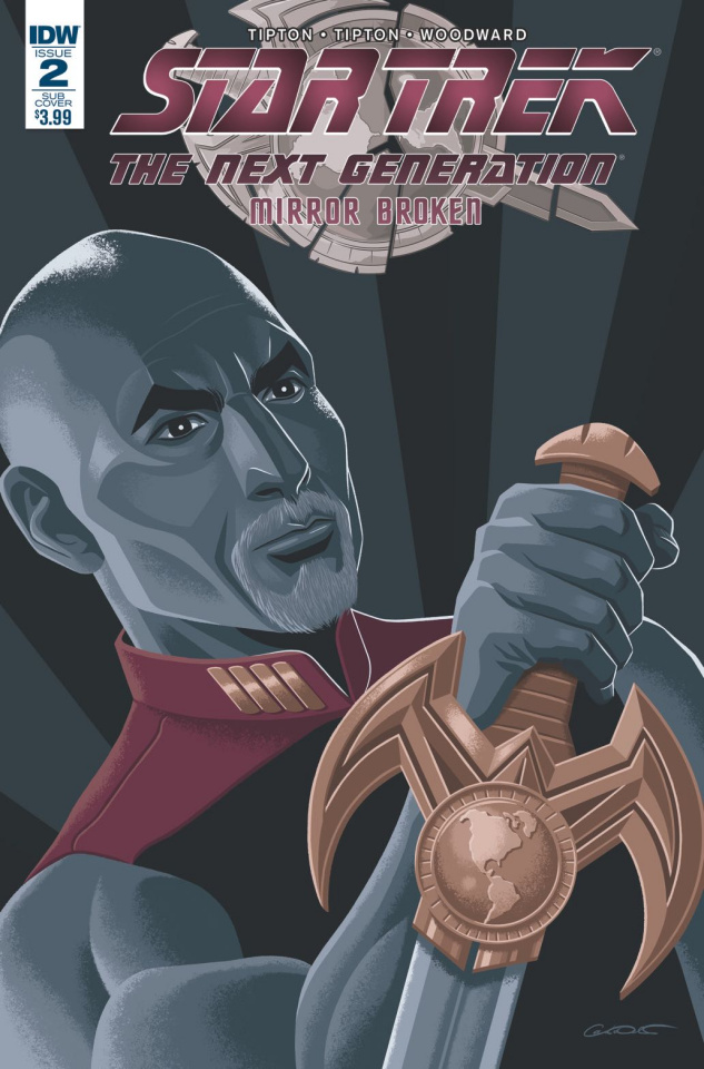 Star Trek: The Next Generation - Mirror Broken #2 (Subscription Cover)