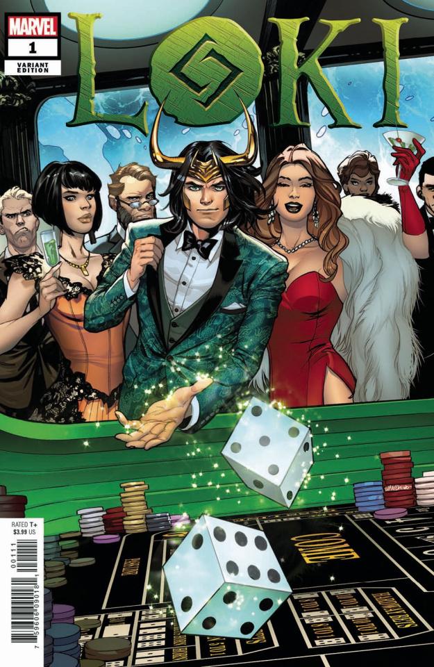 Loki #1 (Lupacchino Cover)