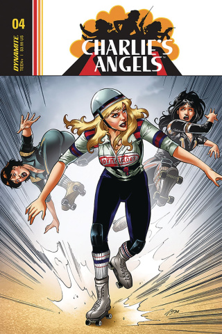 Charlie's Angels #4 (Cifuentes Cover)