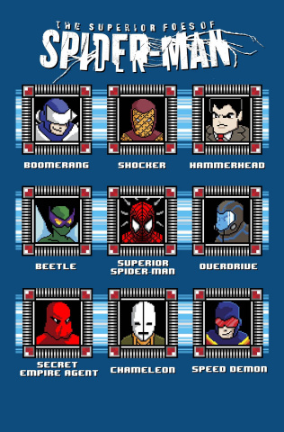 The Superior Foes of Spider-Man #1 (8-Bit Cover)