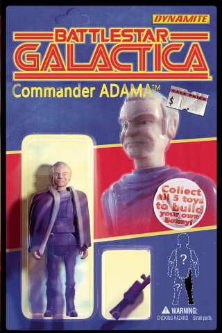 Battlestar Galactica #1 (Adams Subscription Cover)