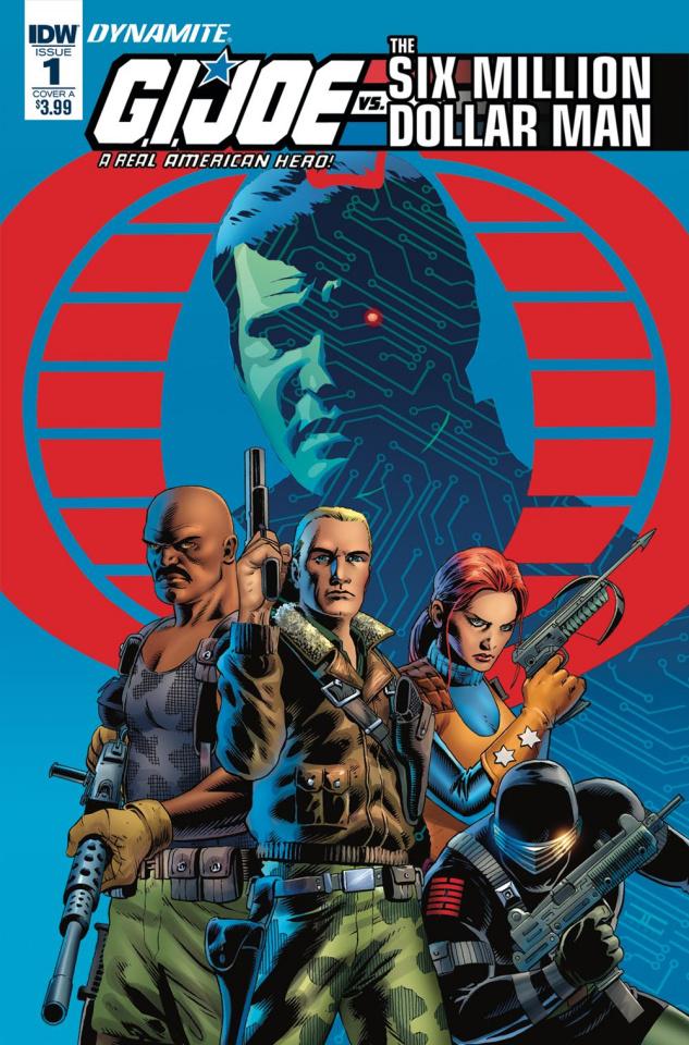 G.I. Joe vs. The Six Million Dollar Man #1 (Cassaday Cover)