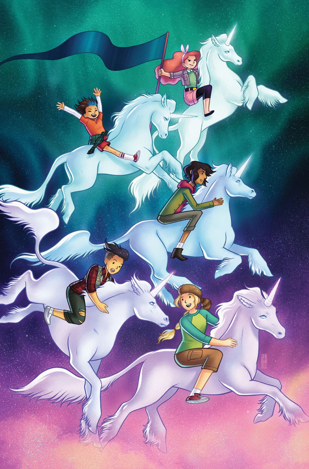 Lumberjanes #28 (20 Copy Bartel Cover)