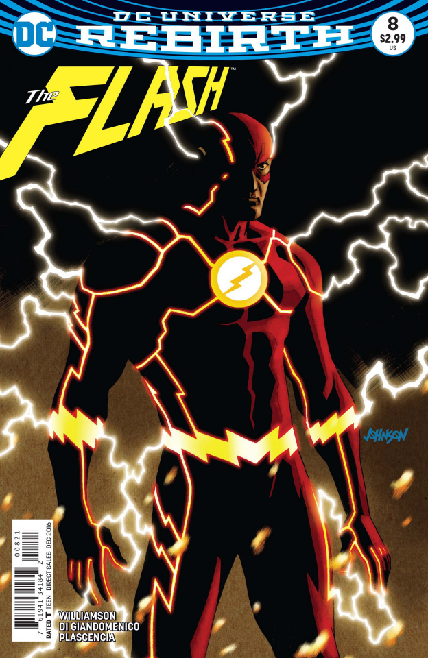 The Flash #8 (Variant Cover)