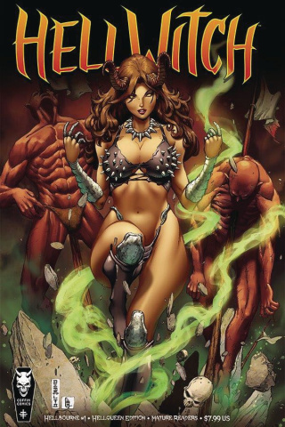 Hellwitch: Hellbourne #1 (Hellqueen Cover)