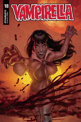 Vampirella #18 (Roux Cover)