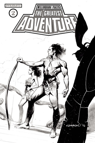 The Greatest Adventure #2 (10 Copy Nord B&W Cover)