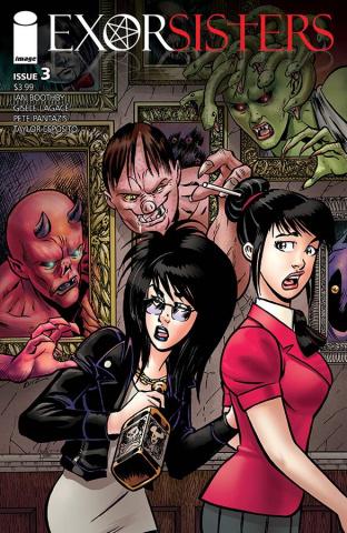 Exorsisters #3 (Ruiz & Hanano Cover)