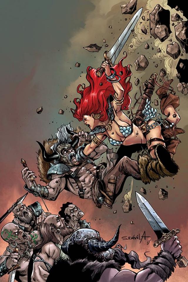 Red Sonja: Birth of the She-Devil #2 (10 Copy Davila Virgin Cover)