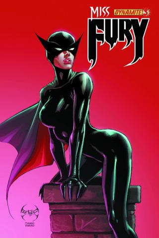 Miss Fury #3 (Benitez Cover)